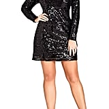 City Chic Bright Lights Dress