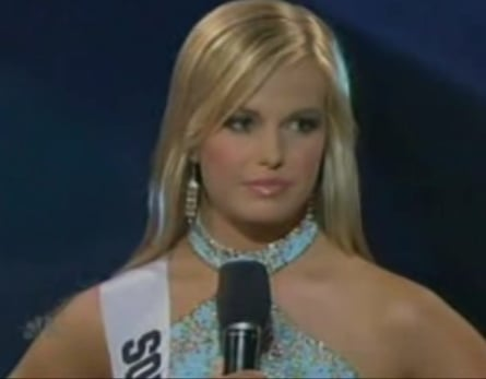 Miss Teen S.C. Can't Answer A Question
