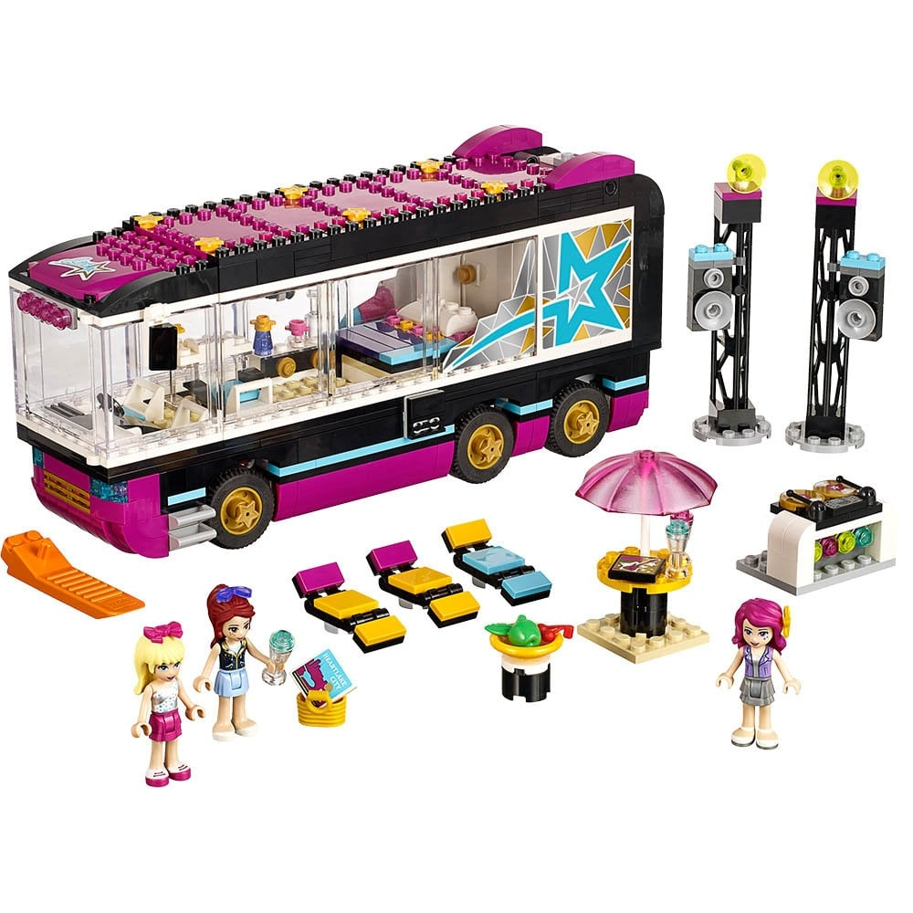 For 5-Year-Olds: Lego Friends Popstar Tourbus
