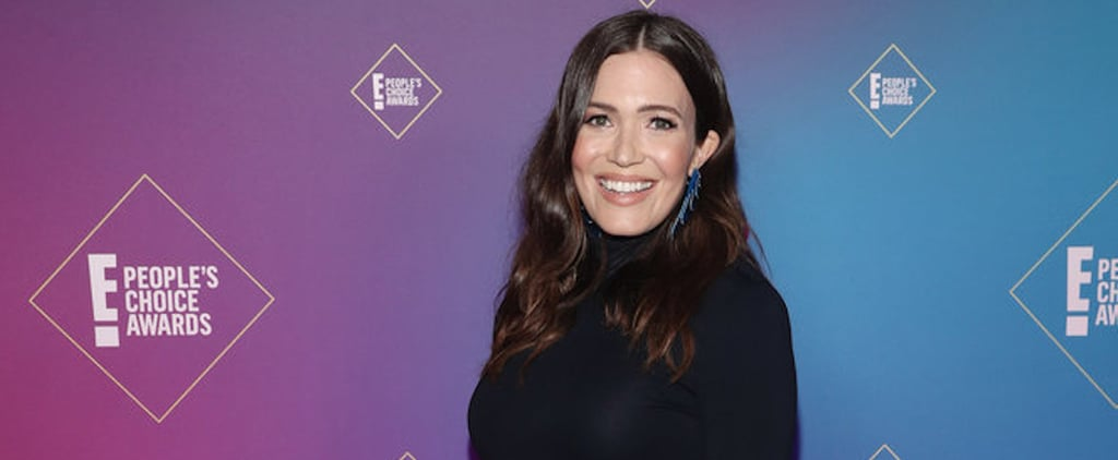 Mandy Moore's Black Brandon Maxwell Dress at the PCAs 2020