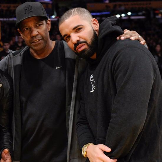 Drake Gets Denzel Washington Tattoo September 2017