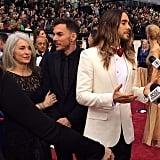 Jared Leto made the Oscars a family affair!