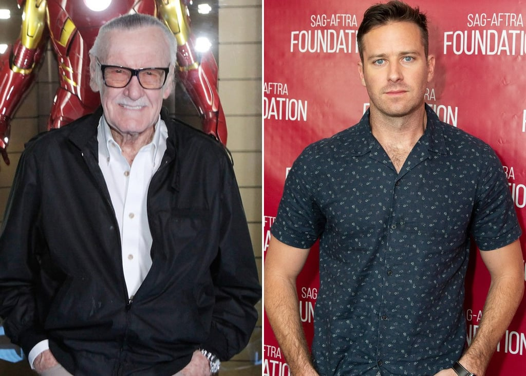Armie Hammer Tweets About Stan Lee Tribute Posts