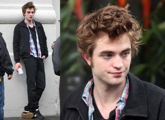 15/6/2009 Robert Pattinson Filming Remember Me in NYC