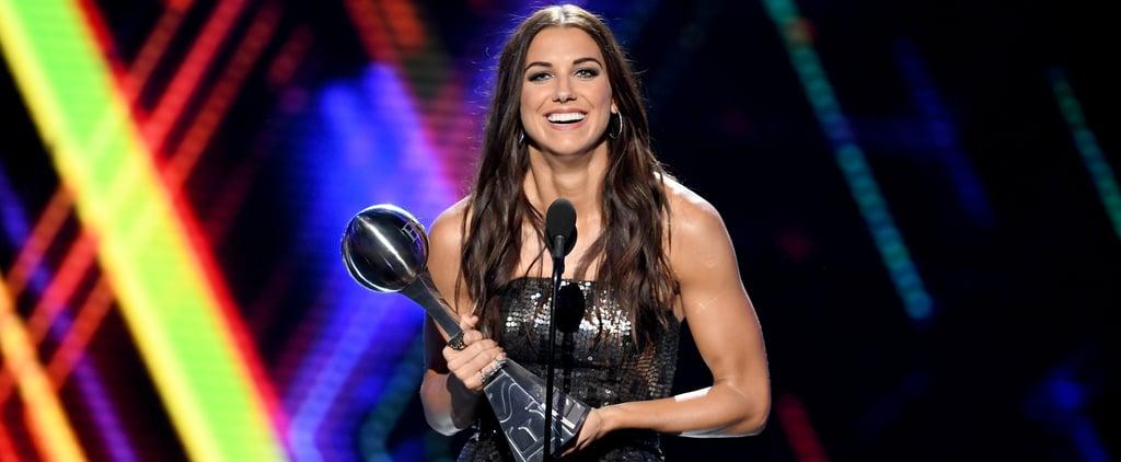 Alex Morgan ESPYs 2019 Best Female Athlete Speech
