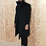 Justin Theroux at the Louis Vuitton Paris Fashion Week Show