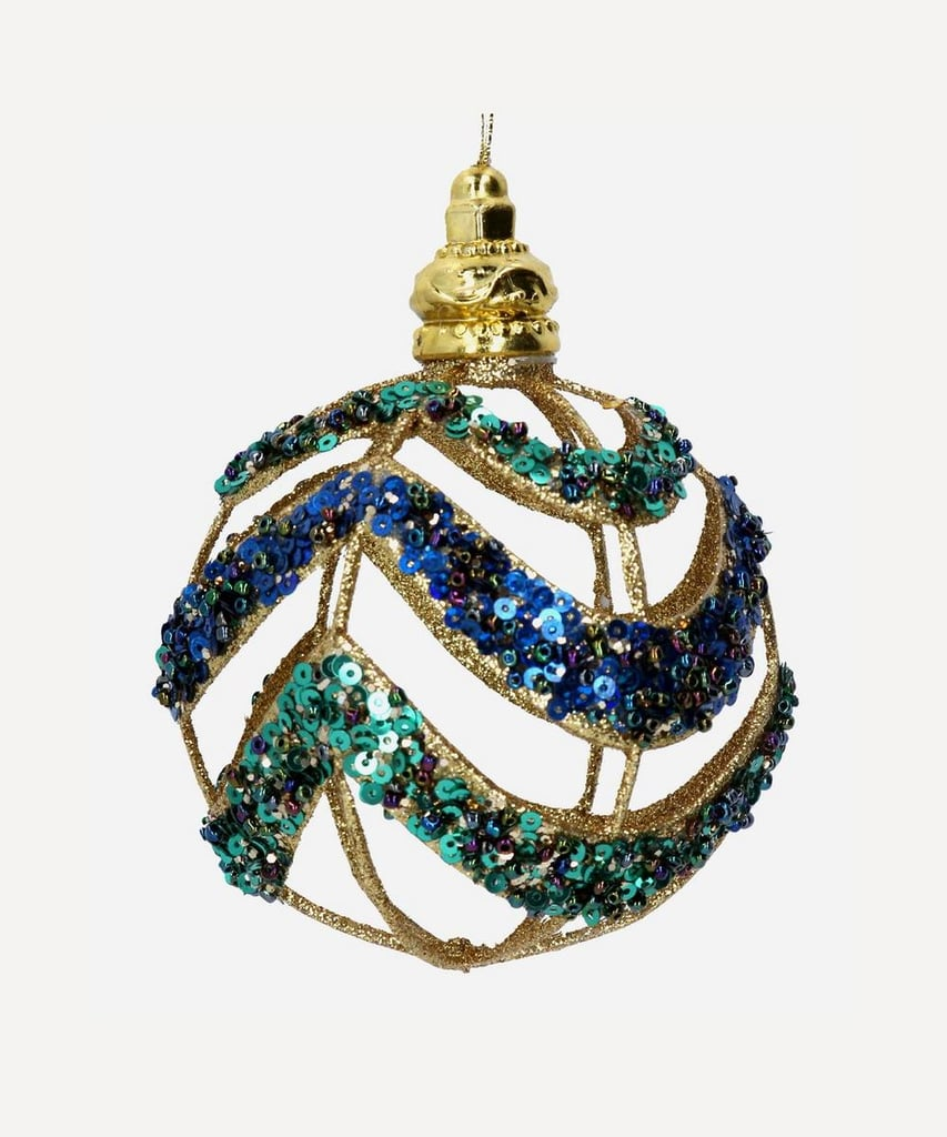Liberty London Cut-Out Sequins Bauble