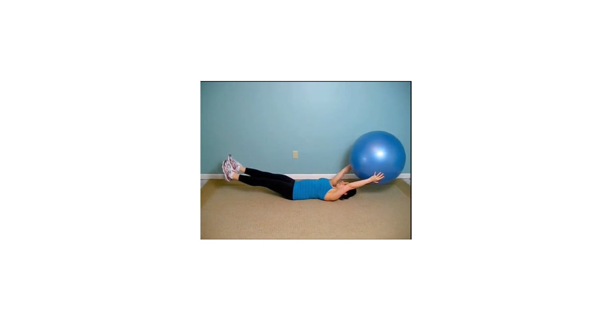 Video Of Ab Exercise Using An Ball