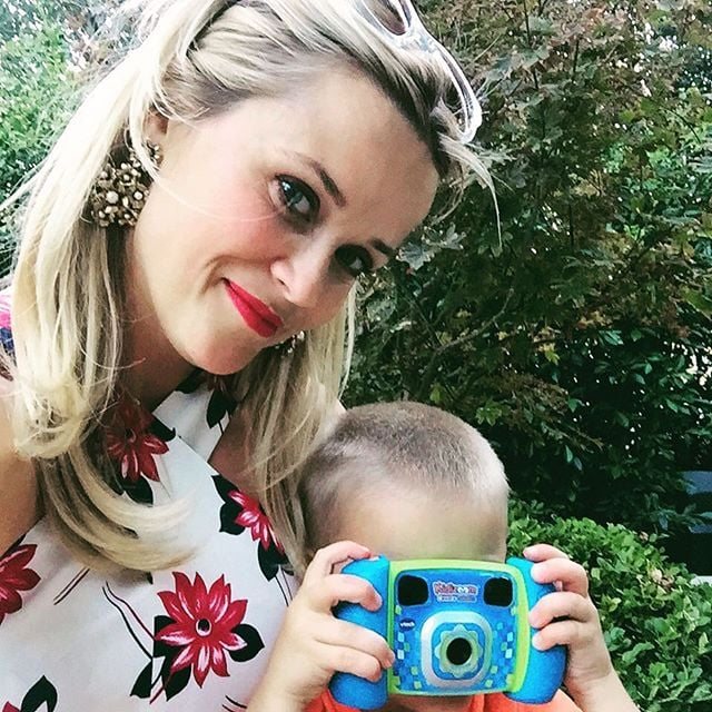 Reese Witherspoon's Family Pictures on Instagram ...