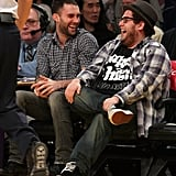 Jonah Hill was on hand to officiate Adam Levine's July 2014 wedding to model Behati Prinsloo. The pair have been friends since middle school, where, according to Jonah, they were in a carpool together and would hang out at each other's houses. Jonah's brother, Jordan Feldstein, is also the manager of Maroon 5.