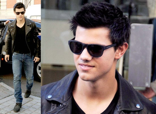 Photos of Taylor Lautner in Madrid