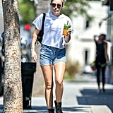 Style Your T-Shirt With: Shorts and Boots