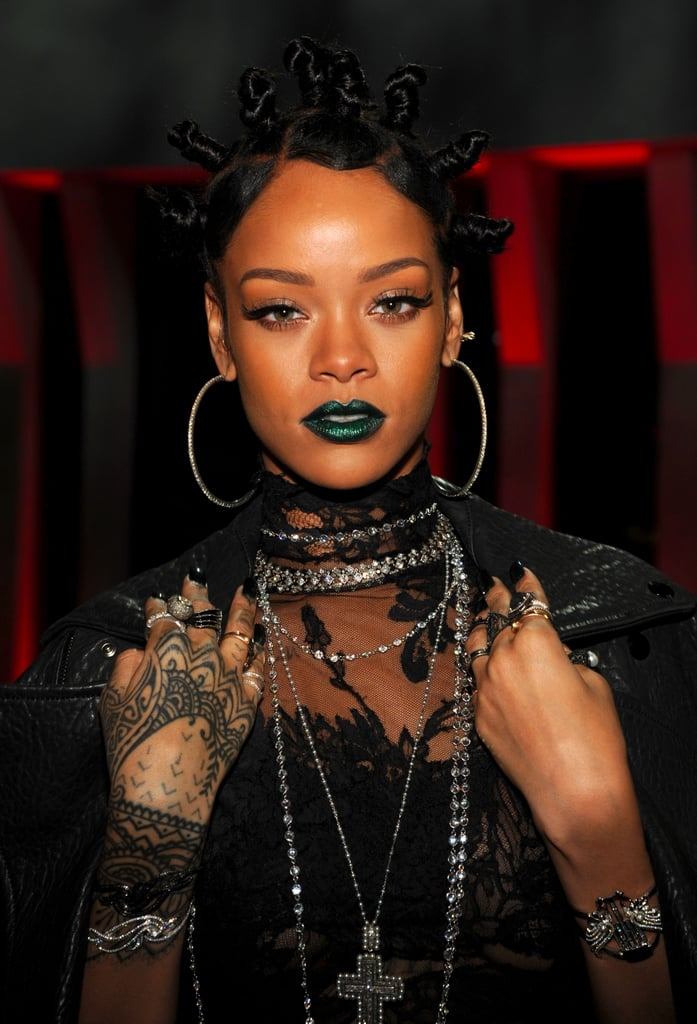Edgy Green Lipstick Is the Dominating Color Trend of 2017