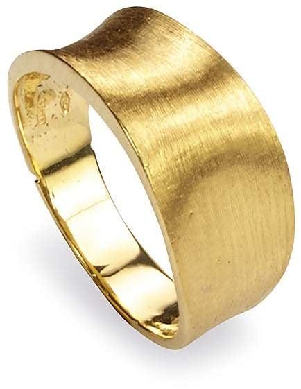 Marco Bicego Lunaria 18k Gold Band Ring wO25MChpzQ
