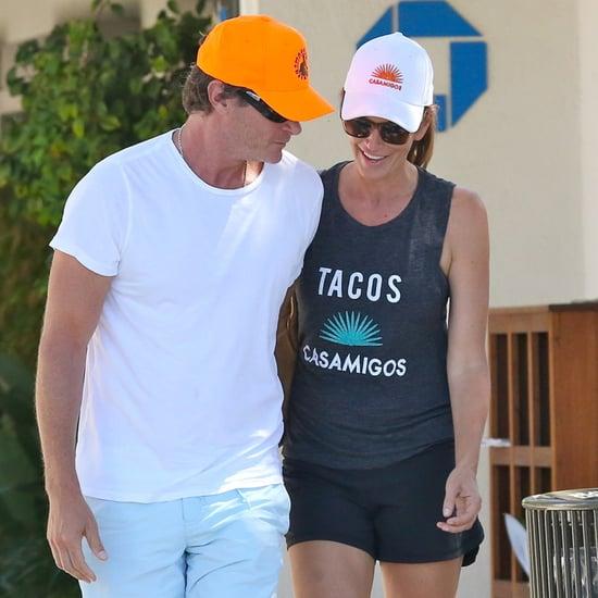 Cindy Crawford and Rande Gerber in Malibu September 2015