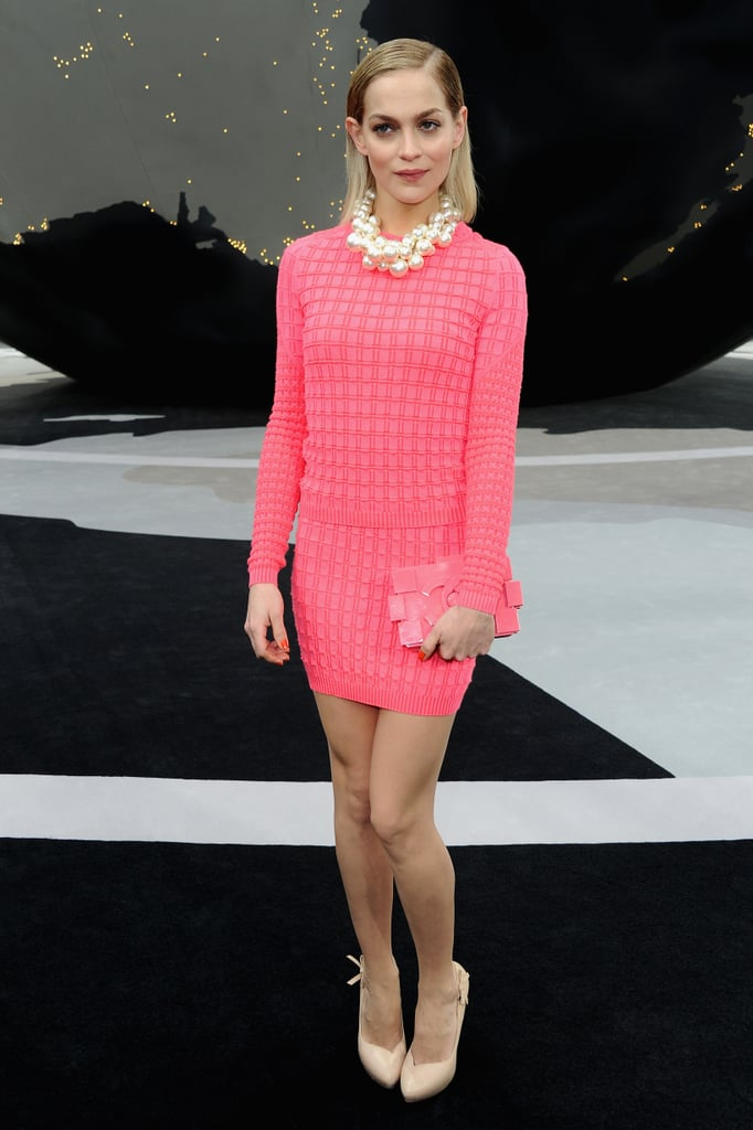 Leigh Lezark at Chanel.