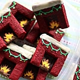 Red Velvet Shortbread Fireplaces