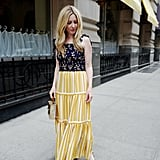 The Outfit Formula: A Smocked Tank + Tiered Maxi Skirt