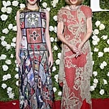 Bee attended the 2017 Tony Awards in Alexander McQueen alongside her mom, Anna, who wore Maison Margiela.