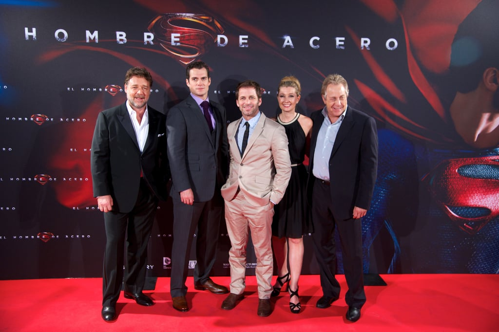 Man of Steel's Press Tour Takes Madrid