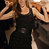 Gisele Bündchen made her first runway appearance in over a year at the Colcci show at São Paulo Fashion Week in Brazil this week.