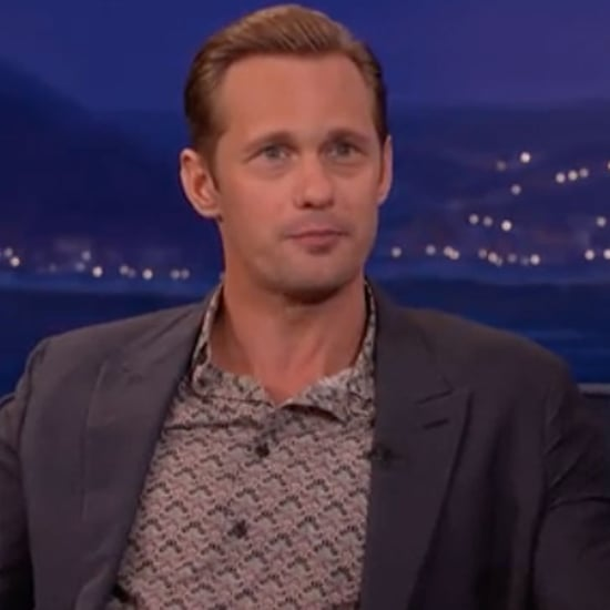 Alexander Skarsgard Talks Drag Queen Photo on Conan Video