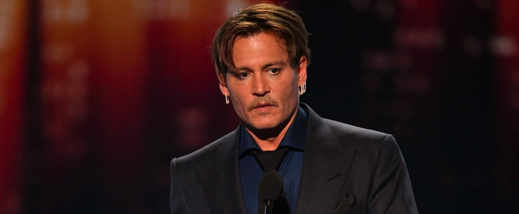 This Is Probably as Close as Johnny Depp Will Ever Come to Talking About His Divorce in Public