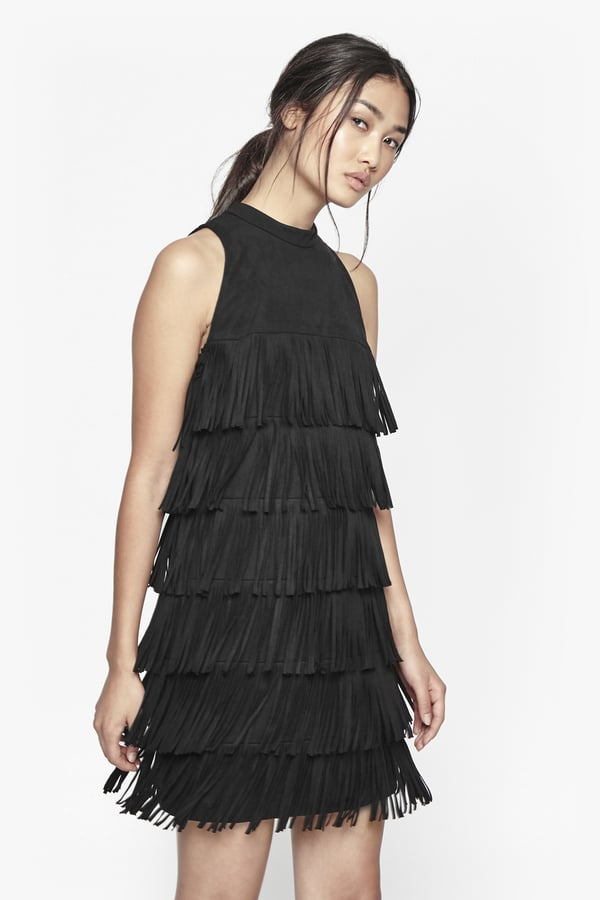 3b27ed19959 French Connection Hula Fringe Faux Suede Dress (£150) | Best Little ...