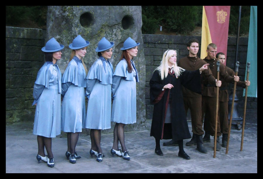 Beauxbatons Durmstrang And Hogwarts Students Harry Potter Costumes Popsugar Australia Tech Photo 36 #durmstrang once had the darkest reputation of all 11 wizarding schools, though this was never durmstrang, which has turned out many truly great witches and wizards, has previously fallen under. beauxbatons durmstrang and hogwarts