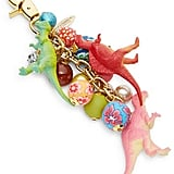 Lenora Dame Faux Pearl Accented Dinosaur Purse Charm
