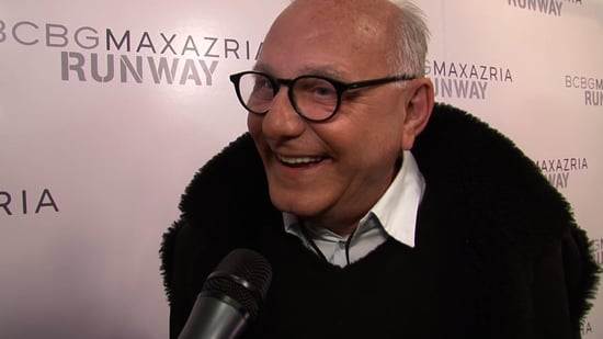 BCBG Designer Max Azria Interview at New York Fashion Week Fall 2011