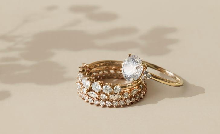 Wedding Bands And Ring Set Stack Ideas Popsugar Fashion