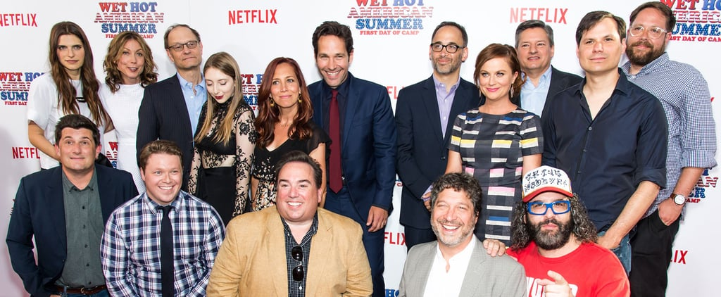 The Wet Hot American Summer Reboot's Red Carpet Will Leave You Wanting More