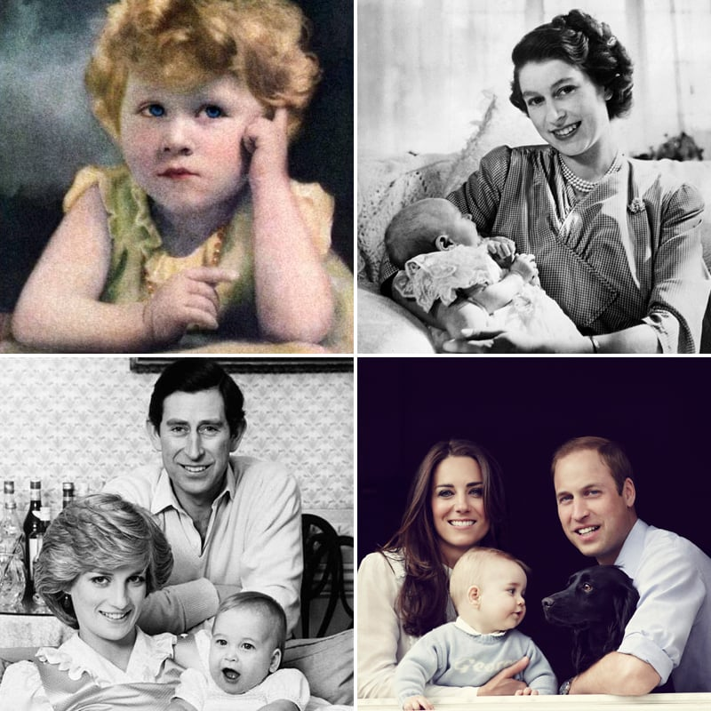 British Royal Family Portraits