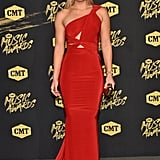 Lindsey Vonn at the 2018 CMT Awards