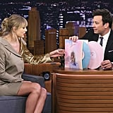 Taylor Swift Talking About Her Lover Album on The Tonight Show