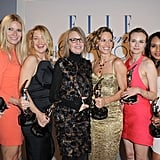 Gwyneth was surrounded by famous friends at Elle's Women in Hollywood Tribute back in October 2010 — she accepted an award along with stars Sofia Coppola, Kate Hudson, Diane Keaton, Hilary Swank, Diane Kruger, Kerry Washington, and Jessica Chastain.