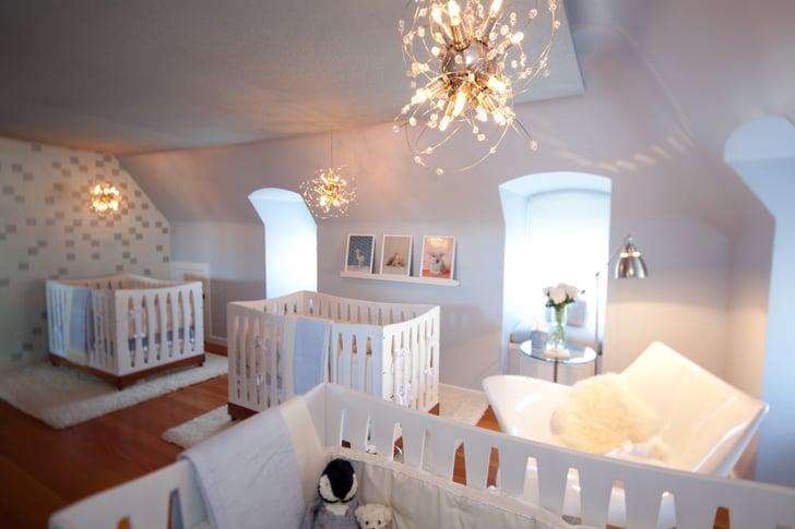 Room With Three Views: Triplet Nursery
