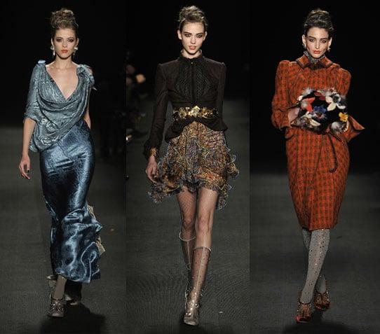 2009 Fall New York Fashion Week: Zac Posen