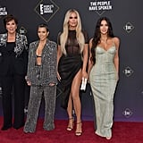 The Kardashians at the 2019 People's Choice Awards