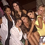 """On Sunday, Victoria reflected on their time together, writing, """"Amazing evening with my girls last night."""""""