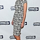 Christy Turlington Burns at the 36th annual Women's Way Powerful Voice Awards in Philadelphia.