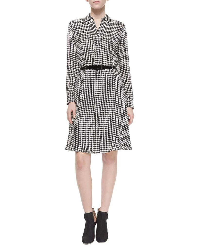 Kate Middleton Wearing Ralph Lauren Houndstooth Dress ...