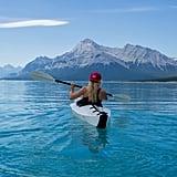 Go kayaking in Nordegg, Canada.