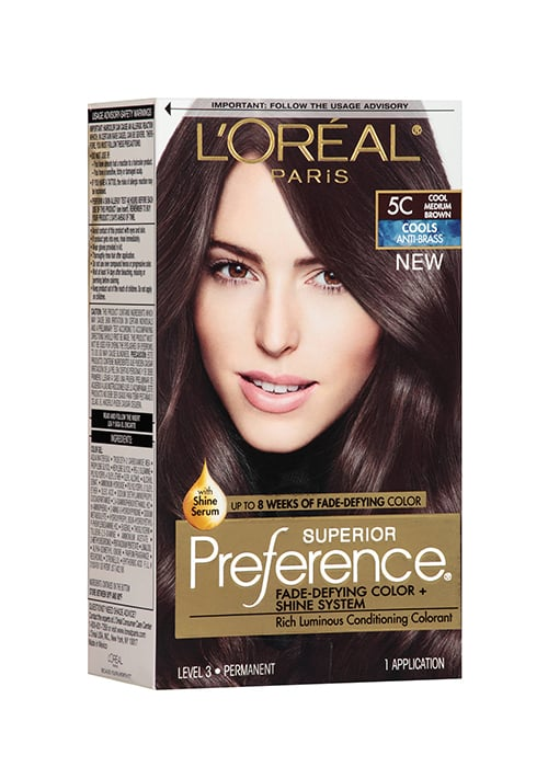 Loral Paris Superior Preference Products To Maintain Brunette