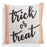 Faux Linen Trick or Treat Pillow