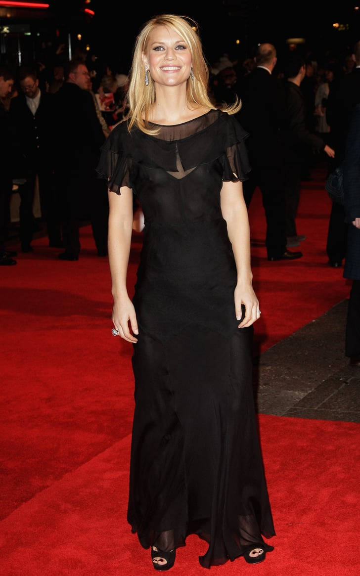 Claire Danes Wearing Sheer At The Uk Premiere Of Me And