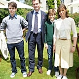 Lady Sarah Chatto and Her Family
