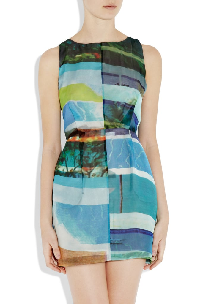 We love the modern artsy print and classic shift shape.  Rag & Bone Tribeca Dress ($315, originally $450)