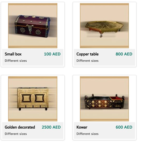 Dubai Police Sell Goods Handcrafted by Prisoners